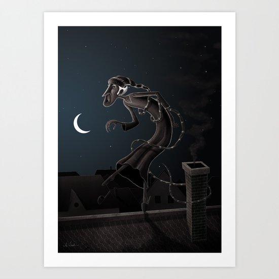 Somnabulist Art Print
