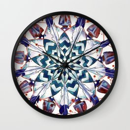 Dreamcatcher Mandala Wall Clock