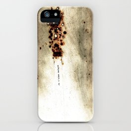 I love you in spite of (Je t'aime malgré) iPhone Case
