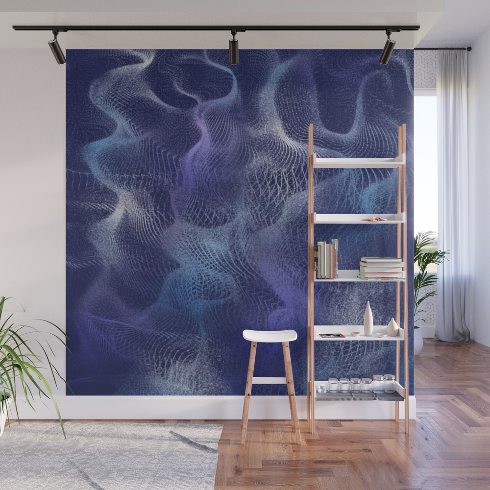 Purple Pixie Dust Wall Mural by Donovanh WMP8779530