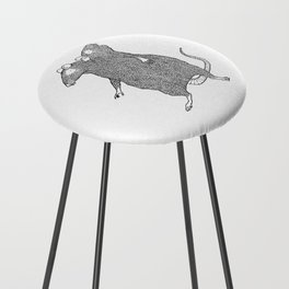 Two Headed Rat, I Love You Counter Stool