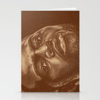 chad wys Stationery Cards featuring round 8..chad dawson by noblackcolor