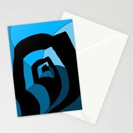 Warped Tunnel B & B Stationery Cards