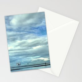 A Rig Passing (Digital Art) Stationery Cards