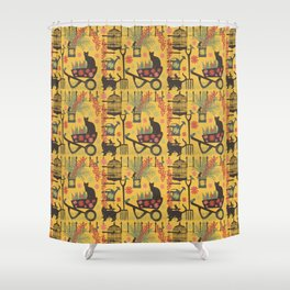 intrepid gardeners Shower Curtain