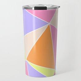 Candy Triangles Travel Mug