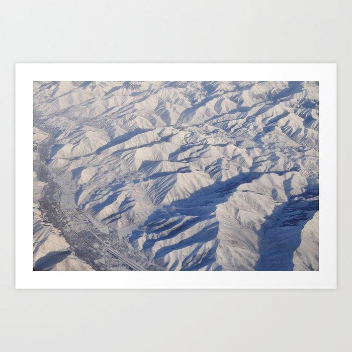 Earth XIV Art Print