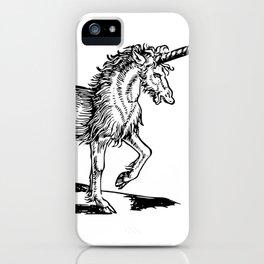 When Unicorns were badass iPhone Case