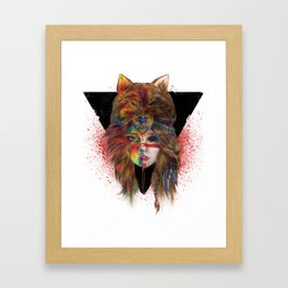 Real U Framed Art Print