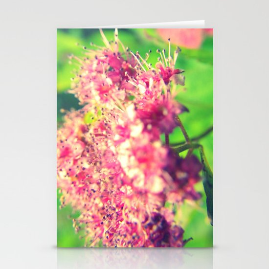 Florid Fuchsia Stationery Cards