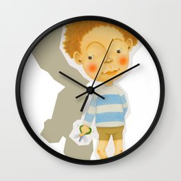 snip snap Wall Clock