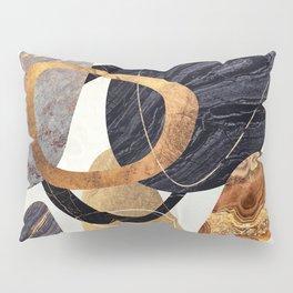 Abstract Pebbles III Pillow Sham