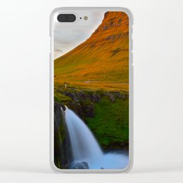 The Mountain & The Falls Clear iPhone Case