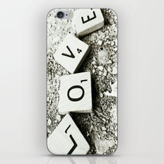 In Love iPhone Skin