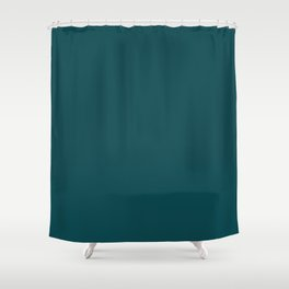 Dark Turquoise Pairs to Benjamin Moore Tucson Teal 2056-10 Shower Curtain