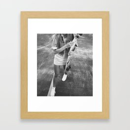 Last Summer Framed Art Print