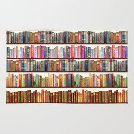 Jane Austen Vintage Book collection Rug