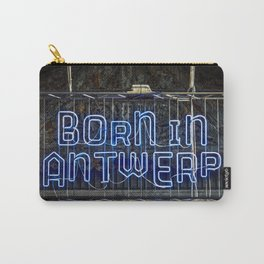 Born in Antwerp Carry-All Pouch