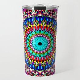 Magic Life Garden Mandala Travel Mug