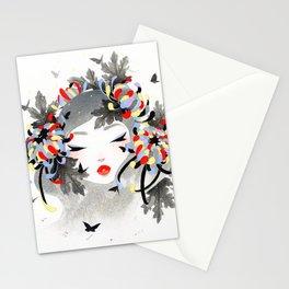 Chrysanthemum Mood Stationery Cards