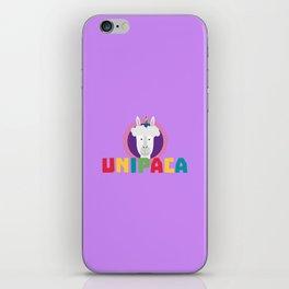 Alpaca Unicorn Unipaca B4srx iPhone Skin