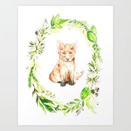 Kit Art Print
