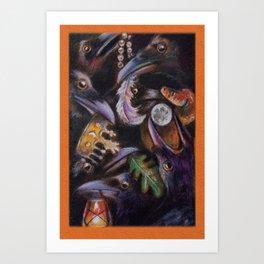 Seven of Cups Art Print