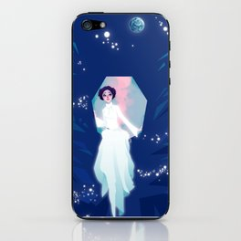 Forever one with the Force iPhone Skin