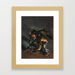 The Aviator Framed Art Print