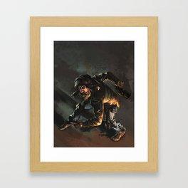 The Aviator Framed Art Print