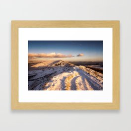 The Shivering Mountain II Framed Art Print