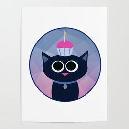 Kitty Cake Poster