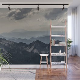 Distant Helens Wall Mural