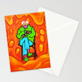Inauguration Bernie - Magma Lava Lamp - Claire Noone 2021 Stationery Cards