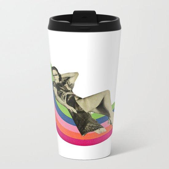 Ride the Rainbow Metal Travel Mug