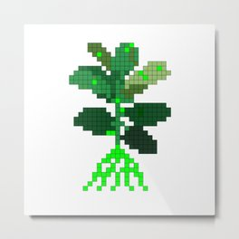Plant Invader Metal Print