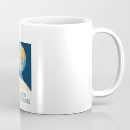 No Borders Coffee Mug