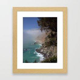 Monterrey.. Big Sur  Framed Art Print