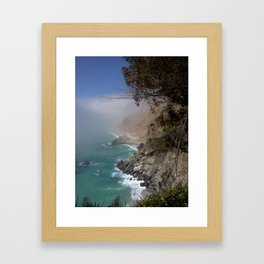Monterrey.. Big Sur  Framed Art Print
