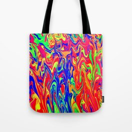 Neon Distraction Tote Bag