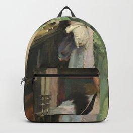 Cecilia Beaux - Bertha Hallowell Vaughan (1866-1948) Backpack