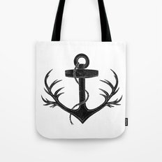 Antlered Anchor Tote Bag