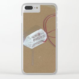 Quartz - These are the things I use to define myself Clear iPhone Case