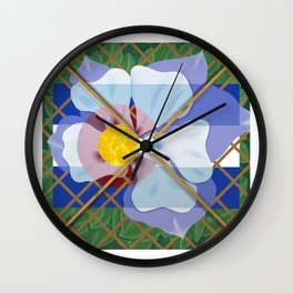 Altered State Flower: CO Wall Clock