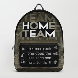 Home Team Backpack