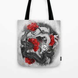 Two dragons Tote Bag
