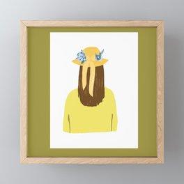 I am not OK Framed Mini Art Print