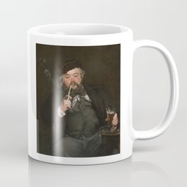 Edouard Manet - Happy Beer Drinker Coffee Mug