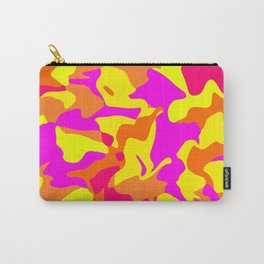 Florida Camo with bright colors by Blackburn Ink Carry-All Pouch