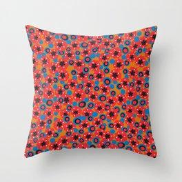 Hendrix 12 String Blazer Pattern Throw Pillow